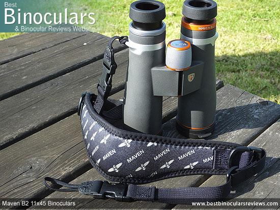 Neck Strap for the Maven B2 11x45 Binoculars