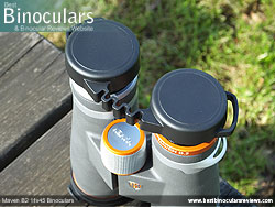 Rainguard on the Maven B2 11x45 Binoculars
