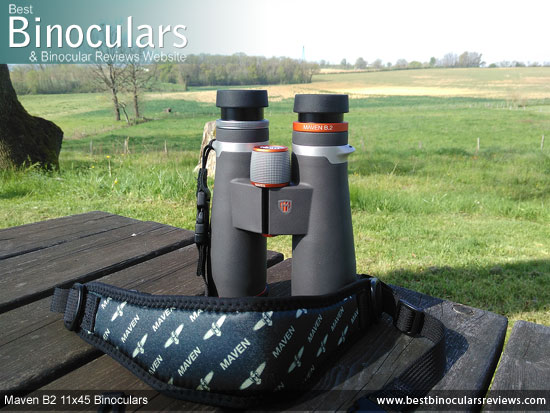 Neck Strap for the Maven B2 11x45 Binoculars
