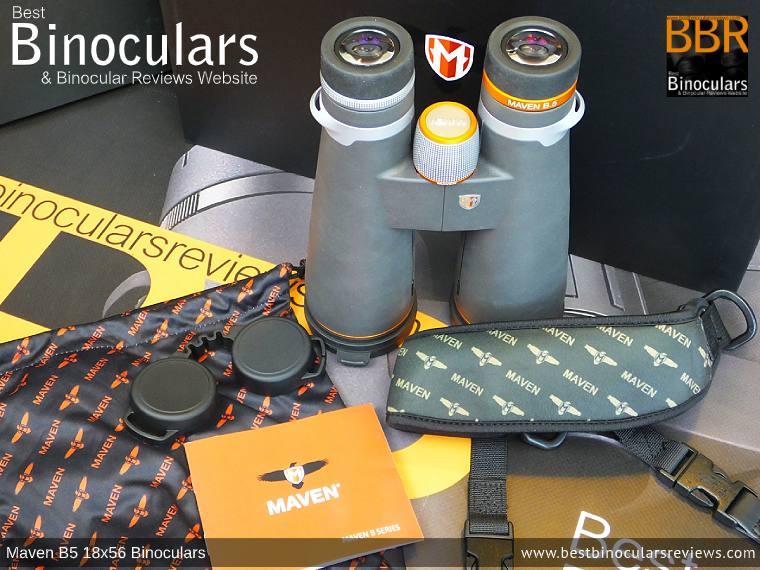 Accessories for the Maven B.5 18x56 Binoculars