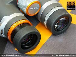 Eyecups on the Maven B.5 18x56 Binoculars