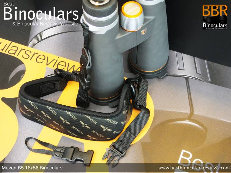 Neck Strap for the Maven B.5 18x56 Binoculars