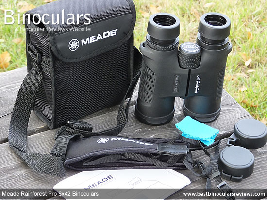 Carry Case for the Meade Rainforest Pro 8x42 Binoculars