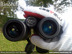 Focusing with gloves - the Meade Rainforest Pro 8x42 Binoculars