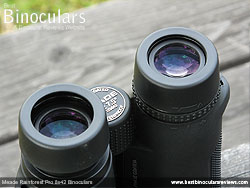 Eyecups on the Meade Rainforest Pro 8x42 Binoculars