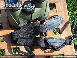 Levenhuk Atom binoculars in their Carry Case