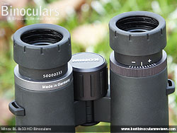 Diopter Adjustment on the Minox BL 8x33 HD Binoculars