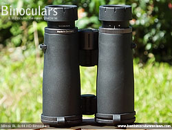 Rear of the Minox BL 8x44 HD Binoculars