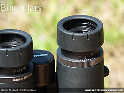 Diopter Adjustment on the Minox BL 8x44 HD Binoculars