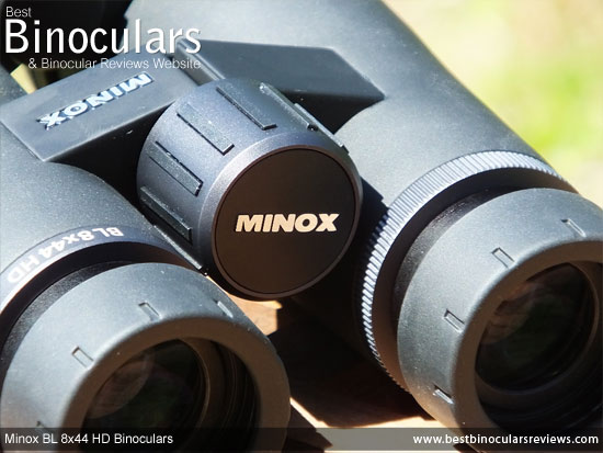Focus Wheel on the Minox BL 8x44 HD Binoculars