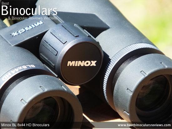 Focus Wheel on the Minox BL 8x44 HD Binoculars