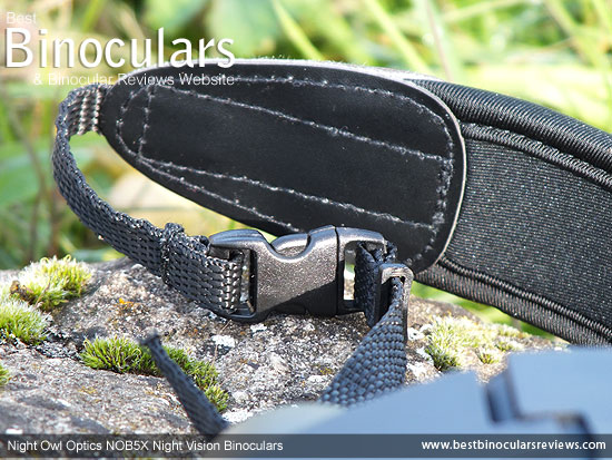Detail of the Neck Strap & Quick Release