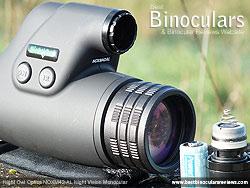 Battery Compartment on the Night Owl Optics NOXM42-AL Night Vision Monoculars