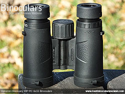 Underside of the Opticron Discovery WP PC 8x32 Binoculars