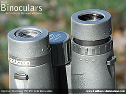 Diopter Adjustment on the Opticron Discovery WP PC 8x32 Binoculars