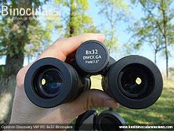 Focusing the Opticron Discovery WP PC 8x32 Binoculars