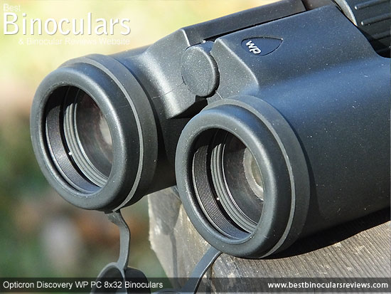 Objective Lenses on the Opticron Discovery WP PC 8x32 Binoculars
