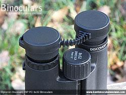Rain Guard on the Opticron Discovery WP PC 8x32 Binoculars