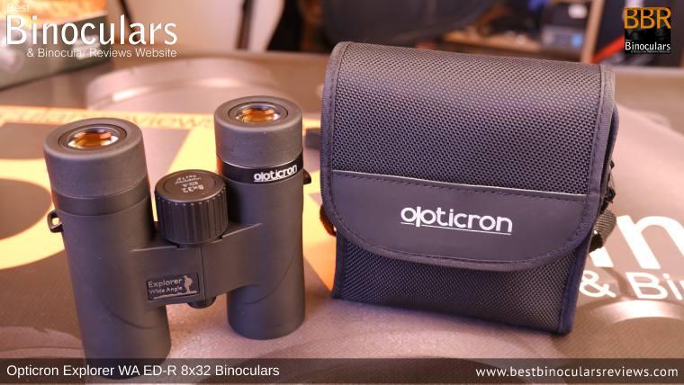 Carry Case for the Opticron Explorer WA ED-R 8x32 Binoculars