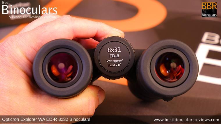 Focusing the Opticron Explorer WA ED-R 8x32 Binoculars