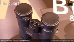 Rain Guard on the Opticron Explorer WA ED-R 8x32 Binoculars