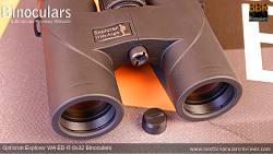 Tripod Adapter on the Opticron Explorer WA ED-R 8x32 Binoculars