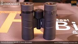 Underside view of the Opticron Explorer WA ED-R 8x32 Binoculars