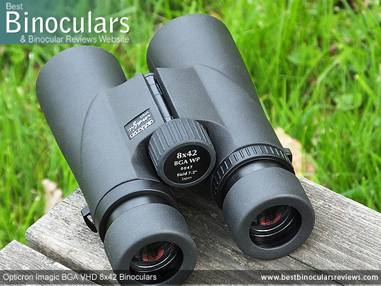 Adjusting the Focus Wheel on the Opticron Imagic BGA VHD 8x42 Binoculars