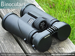 Rain Guard on the Opticron Imagic BGA VHD 8x42 Binoculars