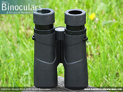 Underside of the Opticron Imagic BGA VHD 8x42 Binoculars