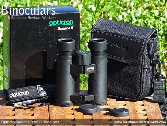 Accessories for the Opticron Savanna R 8x33 Binoculars
