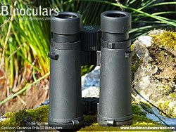 Underside of the Opticron Savanna R 8x33 Binoculars