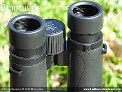 Diopter Adjustment on the Opticron Savanna R 8x33 Binoculars
