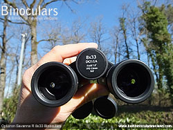 Focusing the Opticron Savanna R 8x33 Binoculars