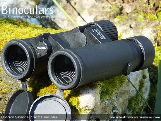 Objective Lenses on the Opticron Savanna R 8x33 Binoculars