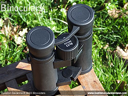Rain Guard on the Opticron Savanna R 8x33 Binoculars