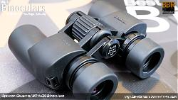 Focus Wheel on the Opticron Savanna WP 6x30 Binoculars