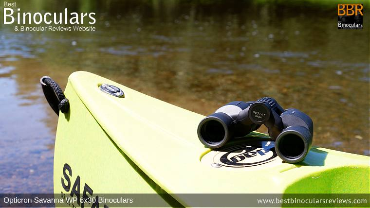 Opticron Savanna WP 6x30 Binoculars - Great low cost Kayaking Binoculars