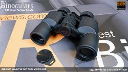 Lens Covers on the Opticron Savanna WP 6x30 Binoculars