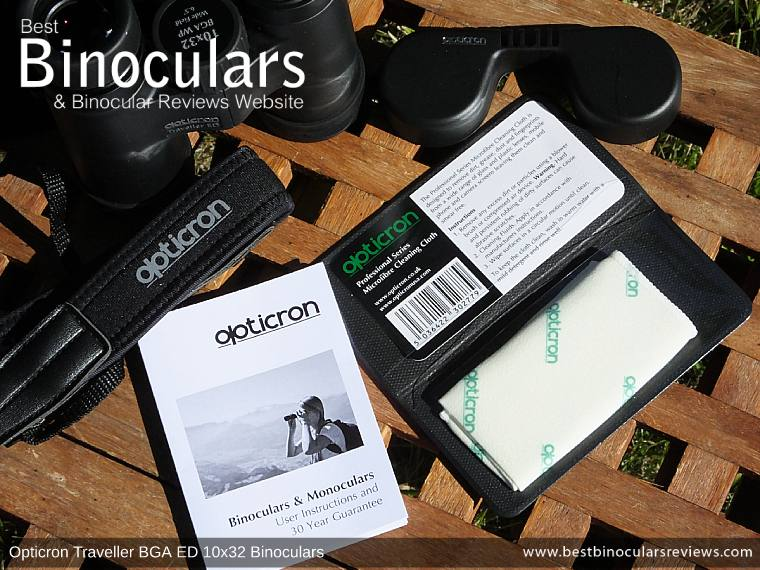 Cleaning Cloth for the Opticron Traveller BGA ED 10x32 Binoculars