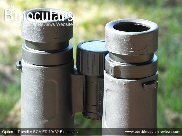 Diopter Adjustment on the Opticron Traveller BGA ED 10x32 Binoculars