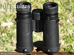 Underside of the Opticron Traveller BGA ED 10x32 Binoculars