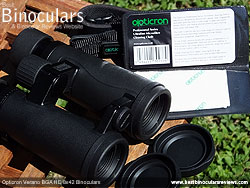 Cleaning Cloth & Opticron Verano BGA HD 8x42 Binoculars