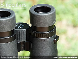 Diopter Adjustment on the Opticron Verano BGA HD 8x42 Binoculars