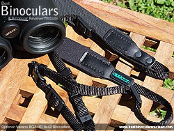 Neck Strap included with the Opticron Verano BGA HD 8x42 Binoculars