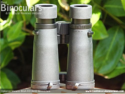 Underside of the Opticron Verano BGA HD 8x42 Binoculars