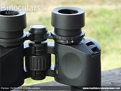 Diopter Adjustment on the Pentax 10x30 PCF CW Binoculars