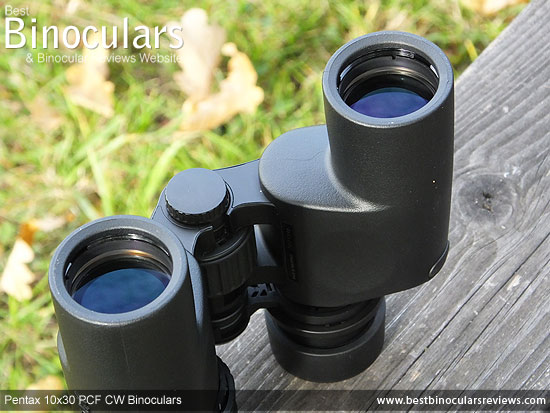 50mm Objective Lenses on the Pentax 10x30 PCF CW Binoculars