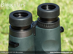 Diopter Adjustment on the Pentax 8x43 DCF ED Binoculars