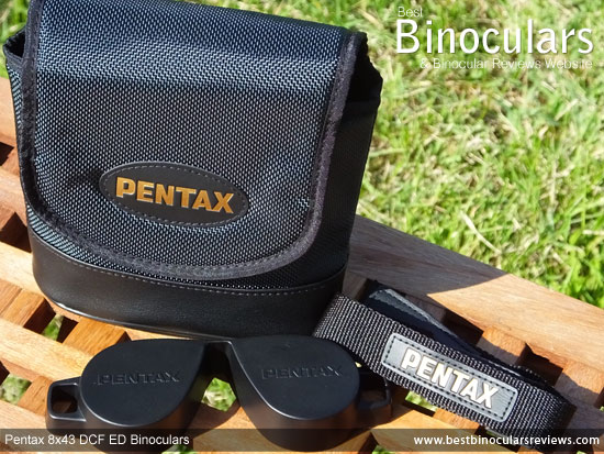Carry Case for the Pentax 8x43 DCF ED Binoculars